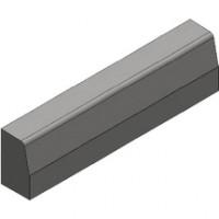 Bordure raccord T2/A2 gauche gris naturel ALKERN
