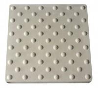 Dalle pododactile picots ronds blanc 60x41.3x4.5cm NOVADAL