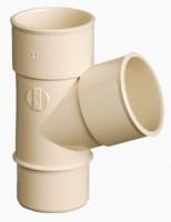 Culotte mâle femelle 67°30 pour tuyau de descente sable diamètre 50mm NICOLL