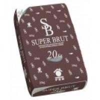 Enduit monocouche superbrut picardie 025- 20kg PRB