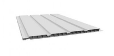 Lambris alvéolaire 4 frises PVC blanc 4000x250x10mm FREEFOAM PLASTICS