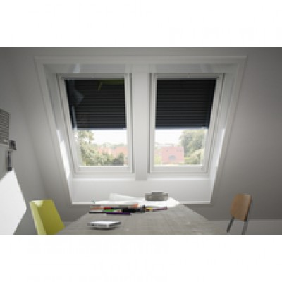 Volet Roulant Solaire Ssl Pour Fenêtre De Toit Uk08 Aluminium Gris