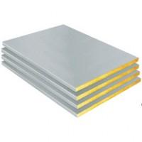 Panneau laine de verre SHEDISOL perle pour isolation plafond R= 1,25m².k/w épaisseur 50mm longueur 1.5m ISOVER