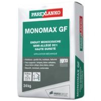 Enduit MONOMAX GF monocouche semi-allégé grain fin blanc naturel G00 pour bâti neuf sac de 24kg PAREXLANKO
