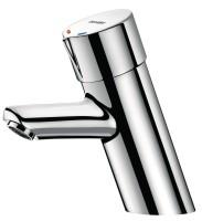 Mitigeur temporisé de lavabo TEMPOMIX F3/8'' mitigeur 7 secondes croisillon Bayblend + robinnet arrêt