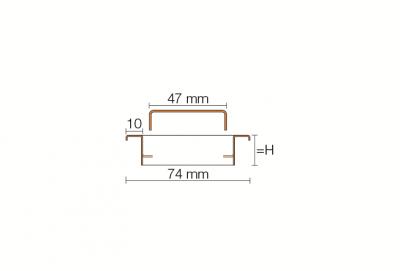 Grille KERDI LINE A 1,0m SCHLUTER SYSTEMS