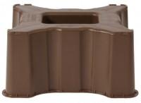 Socle de cuve à eau rectangulaire marron 300l DISTRIBUTEUR PRODUITS COFAQ