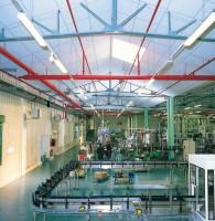 Panneau EOLE faux-plafond en aluminium et en panneaux blanc 50mm 1500x1000mm EUROCOUSTIC