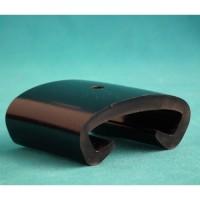 Main courante plastique noire 40x8mm NOZAL VOIR COMPTE KD001