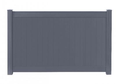 Travée aluminium CATANE gris hauteur 68.5