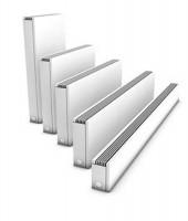 Radiateur STRADA blanc hauteur 65cm longueur 80 T11 1234W JAGA