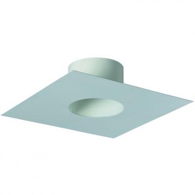 Plaque de finition tubage 20x40cm 180EM blanc