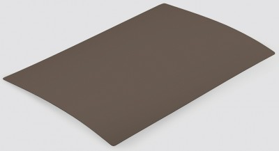 Panneau stratifi c3b u748 brun sepia st9 for Panneau de particule stratifie