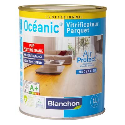 Vitrificateur parquet OCEANIC bois brut bidon de 5l