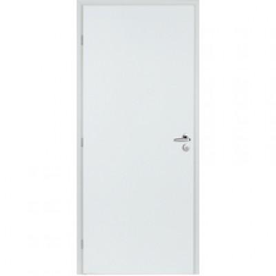 Bloc-porte alvéolaire plane prépeint 930mm  poussant droite  huisserie 68x45 recouvrement PD1/2 tour avec joint