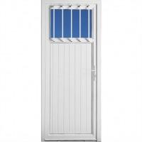 Porte de service GLÉNAN (09) sans grille droite poussant 200x90cm