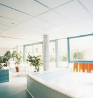 Plafond acoustique CADENCE bord A épaisseur 20mm 0,6x0,6m ECOPHON