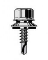 Vis TÊTALU P5 autoperceuse TK12 6.3x35mm RAL 8014 boîte de 100 FAYNOT