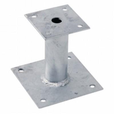 Étai ancrage platine fixe hauteur 150mm KLÖBER