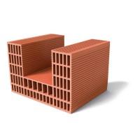 Brique de mur Monomur de 30 linteau rectifié 400x300x250mm BIO'BRIC