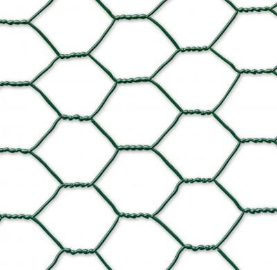 Grillage GALVANEX 41 triple torsion vert hexagonal 0,5x10ml CELLOPLAST