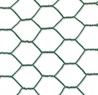 Grillage GALVANEX 41 triple torsion vert hexagonal 0,5x10ml CELLOPLAST