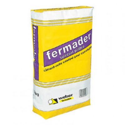 Colle caséinée pour pose de carrelage sur support plâtre WEBER.COL plâtre blanc sac 25 kg WEBER