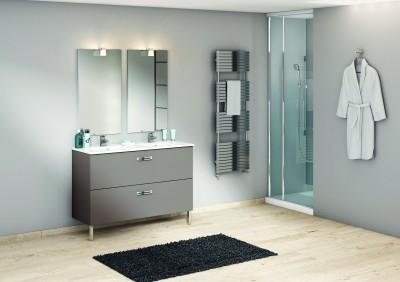 meuble sous vasque chango 2 tiroirs sci e gris 120x45cm discac m rignac 33700 destockage. Black Bedroom Furniture Sets. Home Design Ideas