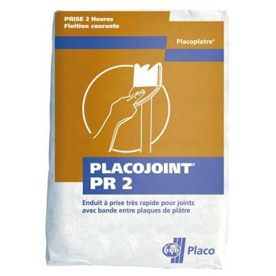 Enduit joint PR 2 60S sac de  25kg PLACO