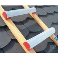 Echelle plate de toit bois aluminium écartement 25cm longueur 4m HIMMELSBACH