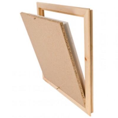 Trappe verticale cadre bois 30x30cm SGV