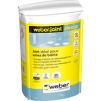 Mortier de jointoiement décoratif WEBER.JOINT DESIGN beige taupe E01 sac de 5kg WEBER