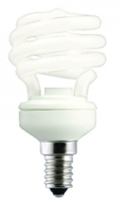 Lampe ECO mini spirale T2 12W GE LIGHTING