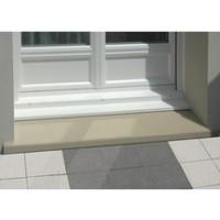 Seuil porte-fenêtre ton pierre 130x33,5x4,5cm WESER