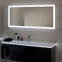Miroir REFLET LUZ éclairage LED 1000x650x43mm SANIJURA