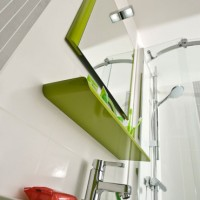 Miroir GLOSS vert tonic 60x80x3cm