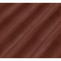 Plaque ondulée fibres-ciment COLORONDE 5 ondes rouge-brun 1.25m ETERNIT