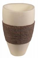 Vasque sur pieds avec corde BATI ORIENT IMPORT