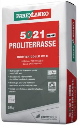 Mortier-colle PROLITERRASSE 5021 beige 25kg PAREXLANKO
