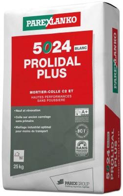 Mortier PROLIDAL+ 5024 blanc 25kg PAREXGROUP