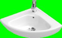 Lave-mains d'angle ONOVO blanc 41.5x 41.5cm VILLEROY ET BOCH