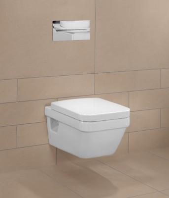 pack wc suspendu architectura carre avec bride avec frein d clipsable villeroy boch sanitaire. Black Bedroom Furniture Sets. Home Design Ideas