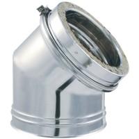 Coude 45° DPY-Z diamètre 125mm ISOTIP-JONCOUX