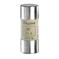 Cartouche industrielle cylindrique sans percuteur LG015397 125A 22x58mm LEGRAND