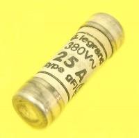 Fusible cartouche céramique cylindrique gF LG014525 25A 10,3x31,5mm LEGRAND