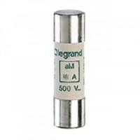 Cartouche industrielle cylindrique type aM avec percuteur LG014116 14x51mm 16A LEGRAND
