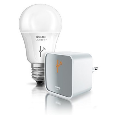 Kit LIGHTIFY Gateway avec CL A60 RGBW LEDVANCE