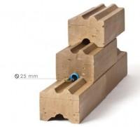 Brique terre crue FACTORY 7x10x25cm 54m2 ARGIBRIQUE