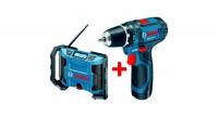 Kit 2 outils 10,8V LI BOSCH