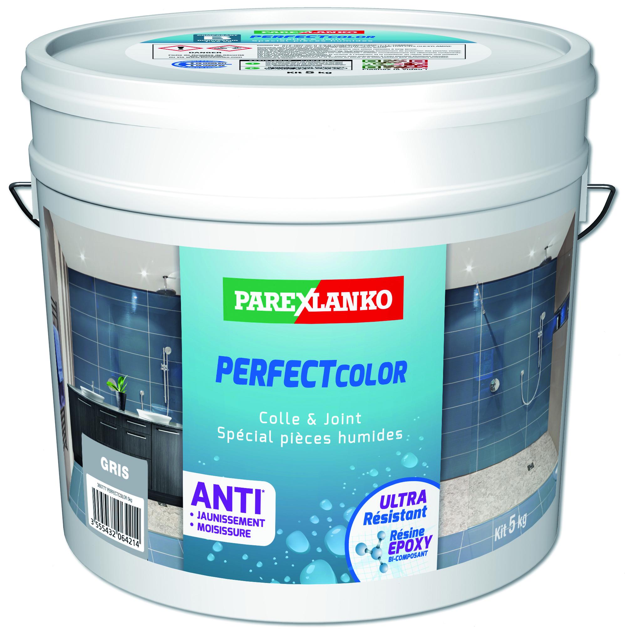 Colle et joint époxy pour carrelage PROLIPOX M-S 549 gris moyen 5kg PAREXGROUP - Niort - 79000